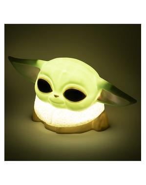 Lámpara Baby Yoda 3D - The Mandalorian