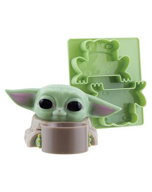 Suporte para ovo e molde de torradas Baby Yoda - The Mandalorian