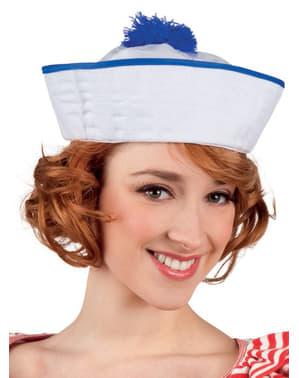 Gorro de marinheira elegante para mulher