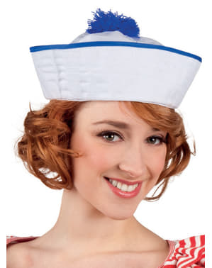 Woman's Elegant Sailor Hat