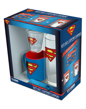 Pack presente de Super-Homem - DC Comics