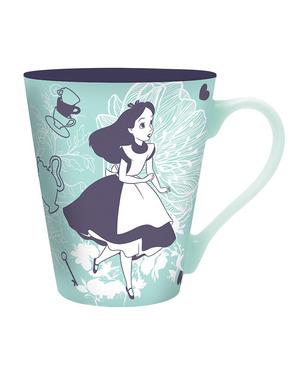 Caneca de Alice e o Gato de Cheshire - Alice no País das Maravilhas