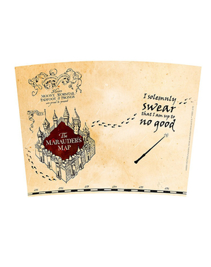 Termos Mappa del Malandrino - Harry Potter