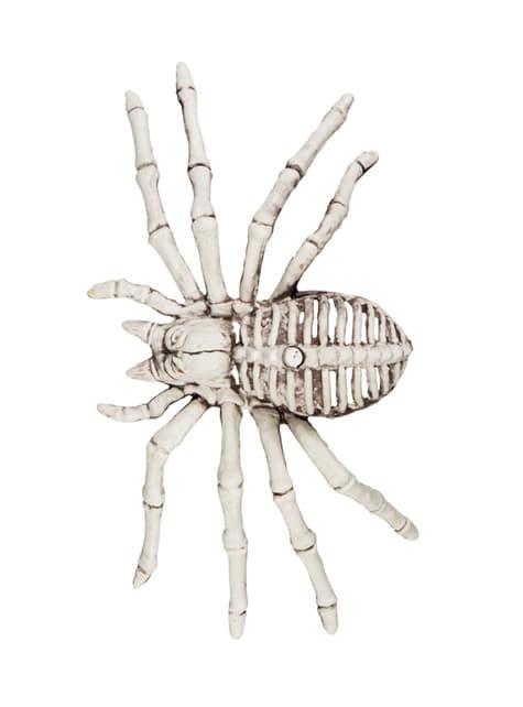 Figura decorativa de esqueleto arácnido