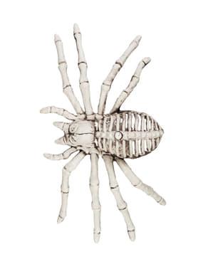 Figura decorativa scheletro ragno