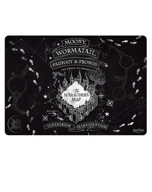 Mouse Pad Harta Marauderului - Harry Potter