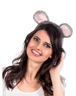Orelhas de rato adorável para mulher
