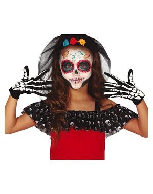 Gants squelettes pour enfant