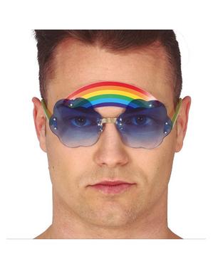 Regenboog bril