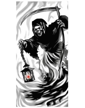 Dekorace na dveře smrtka
