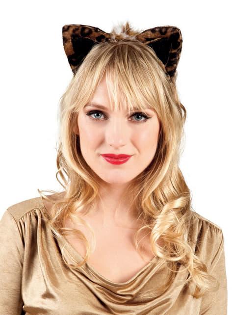 Woman's Adorable Leopard Ears