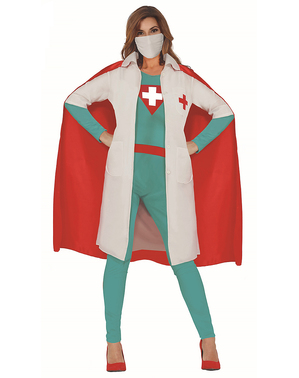 Super Hero Doctor Costume for Women
