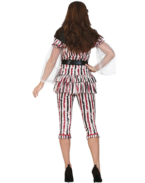 Horrorclown Kostüm für Damen