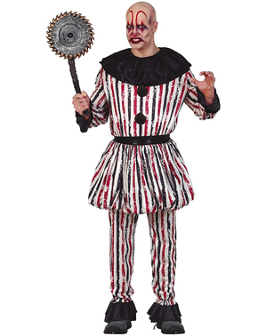 Scary Clown Costume for Men