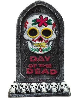 Lápida Día de los muertos 13x8 cm