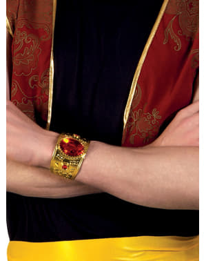 Arabic Bracelet with Red Diamond for Adults