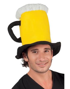 Gorro de jarra de cerveza para adulto