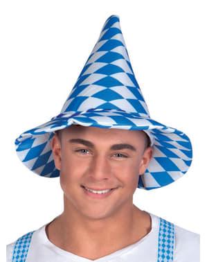 Stożkowy kapelusz Oktoberfest dla dorosłych