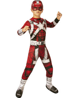 Red Guardian Costume for Boys - Black Widow