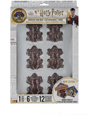 Chocolate Frog Mould with 12 Cards - Harry Potter