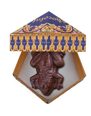 Stampo Rana di cioccolato con 12 carte - Harry Potter