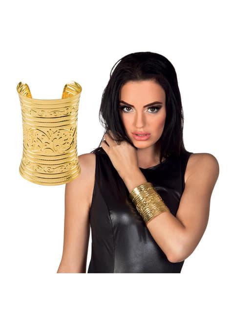 Pulsera dorada de egipcio para adulto - original