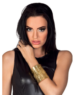 Zlatý arabský náramek pro dospělé
