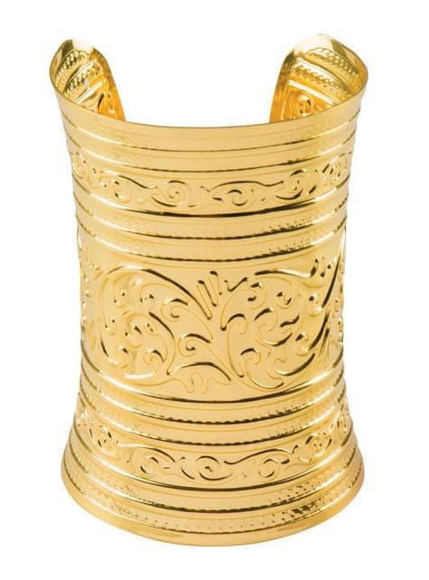 Bracelet doré égyptien adulte