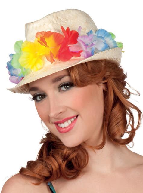 Chapéu de turista no Havai para adulto