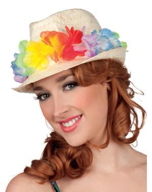 Sombrero de turista en Hawai para adulto