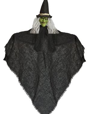 Figurine à suspendre sorcière 50 cm