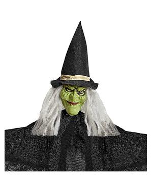 Figura de bruxa de pendurar 50 cm