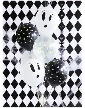 3 balões de Halloween