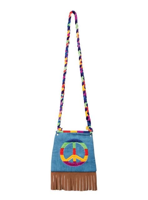 Bolso de hippie pacífica - para tu disfraz