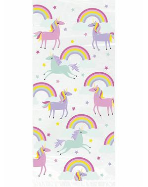 20 Unicorn Party Bags - Happy Unicorn