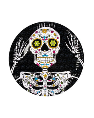 6 kpl kuolleiden päivän lautasta