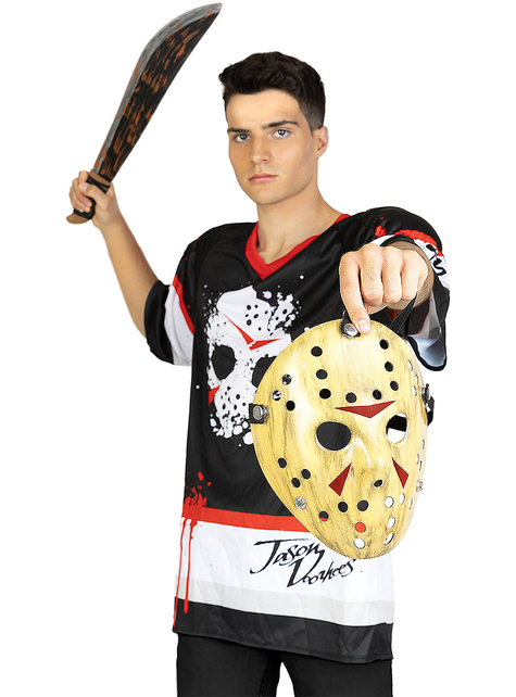 Jason Freitag der 13. Hockey Kostüm