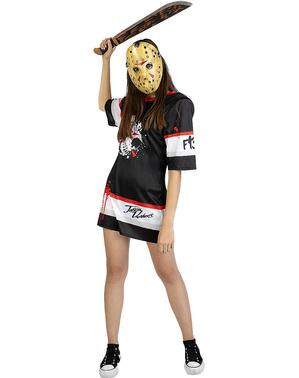Fredag den 13. Jason Hockey Kostume til Kvinder