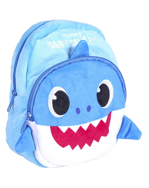Mochila infantil Baby Shark azul