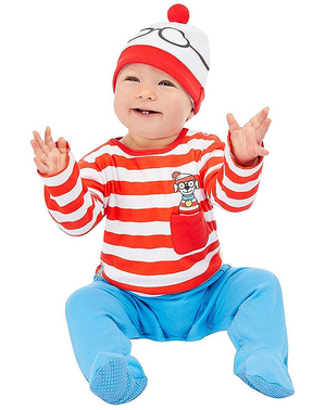 Disfraz de Donde Está Wally para bebé