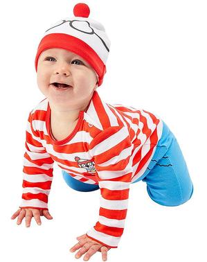 Where's Wally -puku vauvoille