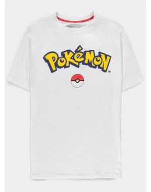 Camiseta Logo de Pokémon para adulto