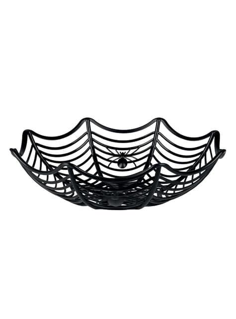 Corbeille toile d'araignée décoration