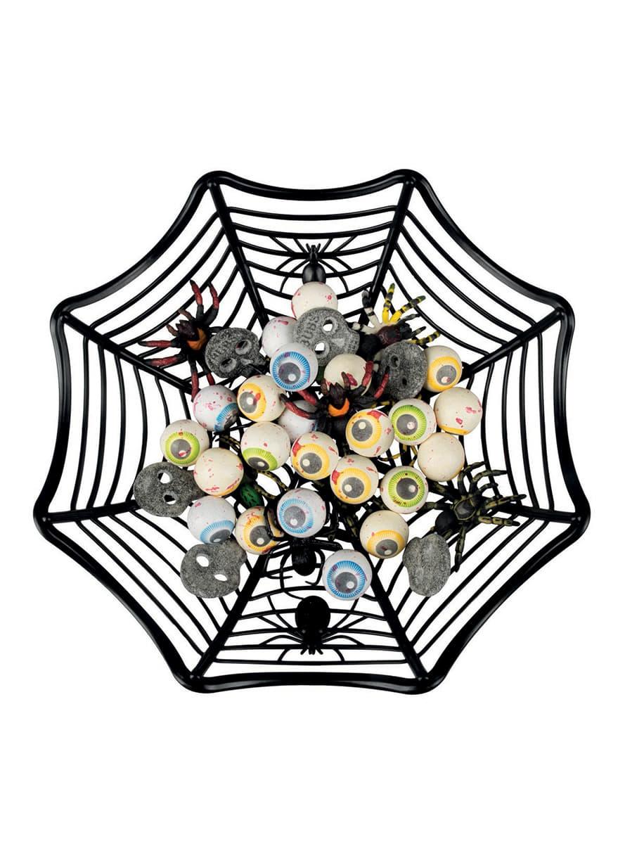 corbeille toile d 39 araign e d coration