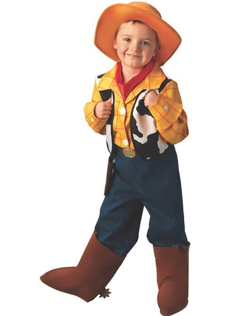 Disfraz de Woody Deluxe de Toy Story niño