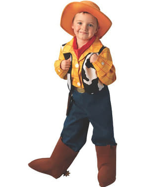 Costum Woody Deluxe din Toy Story băiat