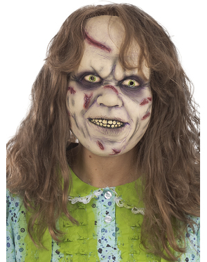 Máscara da menina do Exorcista