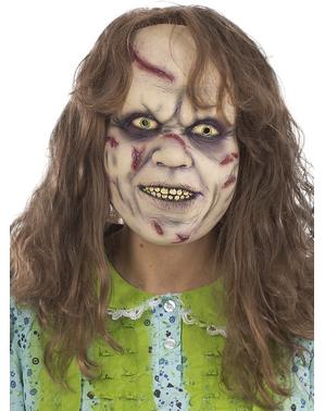 Meisje uit the Exorcist Masker