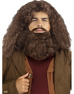 Hagrid Wig with Beard