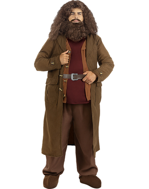 Peluca de Hagrid con barba